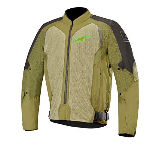 Wake Air Textile Street Motorcycle Jacket (XL, Black (Air Textile Jacket)