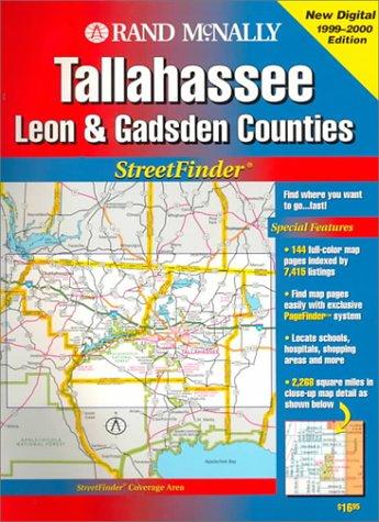 Rand McNally Tallahassee Leon & Gadsden Counties Streetfinder (Rand McNally Streetfinder)