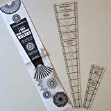 quilts without corners encore - 9 Degree Circle Wedge Ruler Trio Pack - 9