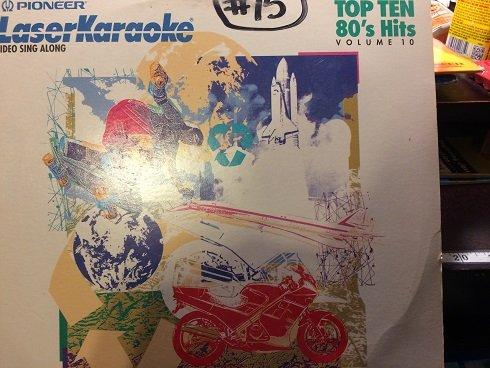 Pioneer Laser Karaoke video Sing Along Top Ten 80's hits volume 10 (Top 10 Sing Along Songs)
