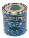 Hammerite 5084831 Ham6722701 250Ml Metal Paint - Hammered Dark Green