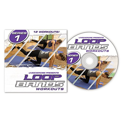 12 Loop Band Workout Videos - 12 Complete, Full Length Body