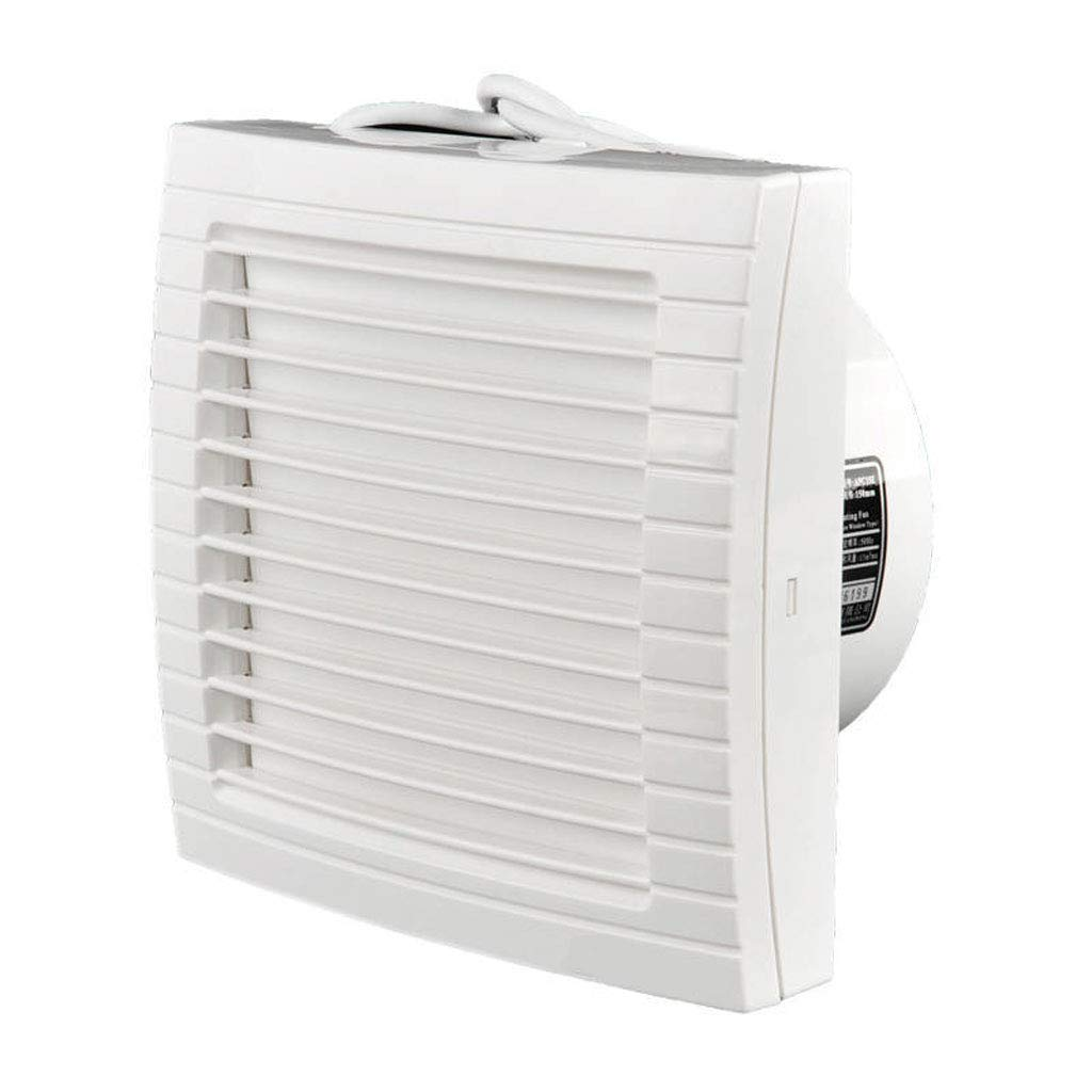 Moolo Exhaust Fan, Bathroom Bedroom Wall-Mounted Silent Ventilation Fan