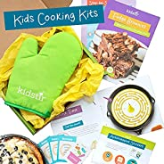 KIDSTIR - Monthly Kids Cooking Kit Subscription Box - Fun Recipes & Tools, Creative Baking & Cooking A