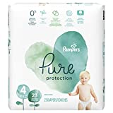 Health & Personal Care : Pampers Pure Protection Disposable Baby Diapers, Size 4, 23 Count