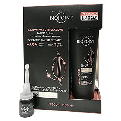 Biopoint Kit staminali Anticaída mujer