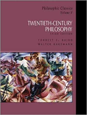 Amazon philosophic classics volume v 20th century philosophy philosophic classics volume v 20th century philosophy v 5 3rd edition fandeluxe Image collections
