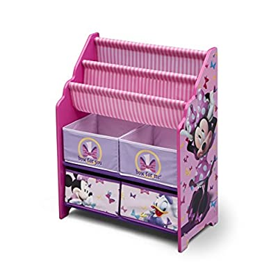 Disney Minnie Mouse Book and Toy Organizer, Multicolor: Baby