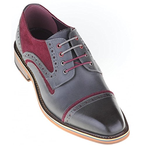 Justin Reece - Brogue uomo Grey
