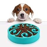 Cheap Pandamen NLH-002 Dog Bowl Feeder Fun Slow Feeder, Helping Prevent Obesity Bloat Regurgitation and Overeating Anti-Skid Design (blue)
