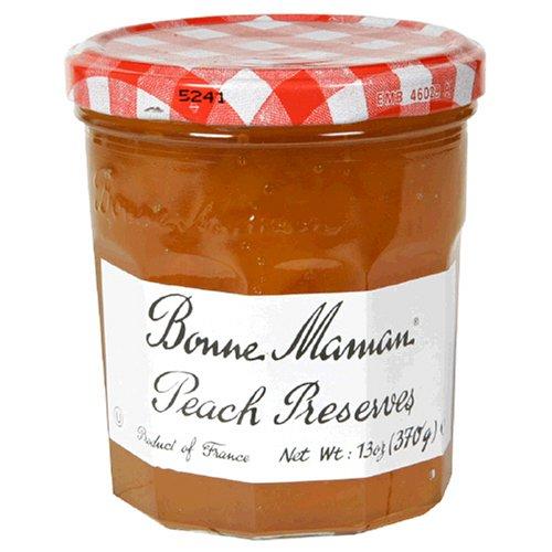 Bonne Maman Peach Preserves, 13-Ounce Jars (Pack of -