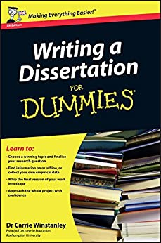 Writing a dissertation for dummies 5th
