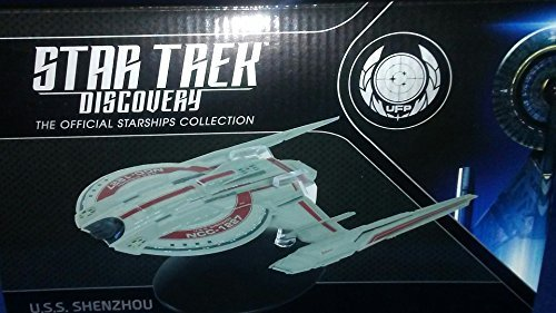 Star Trek: Discovery - USS Shenzhou, NCC-1227 model with magazine (Star Ships Trek)
