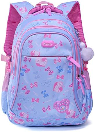 Mochila Escolar para niños, Mochila Escolar para Niñas Estudiantes Bolso Colegio Impermeable - Azul: Amazon.es: Equipaje