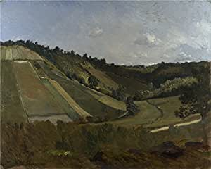 Perfect effect canvas ,the Best Price Art Decorative Prints on Canvas of oil painting 'Philippe Rousseau A Valley ', 20 x 25 inch / 51 x 64 cm is best for Game Room gallery art and Home artwork and Gifts