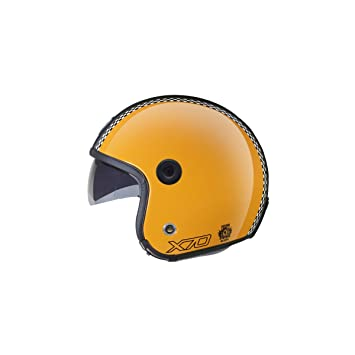 Casco Nexx X70 Freedom Retro Yellow Shiny