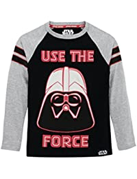 Boys' Star Wars Darth Vader Long Sleeved Top