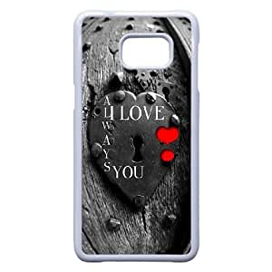 Durable Phone Case Samsung Galaxy S6 Edge Plus Cell Phone Case White Uagck Love Quote I Love You To The Moon And Back Plastic Durable Cover