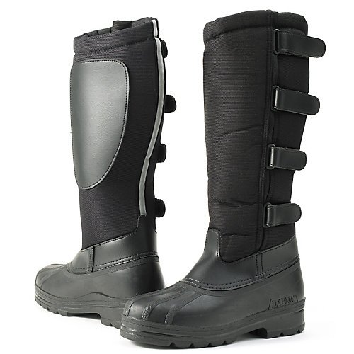 Ovation Ladies Blizzard Winter Riding Boots (8) Black
