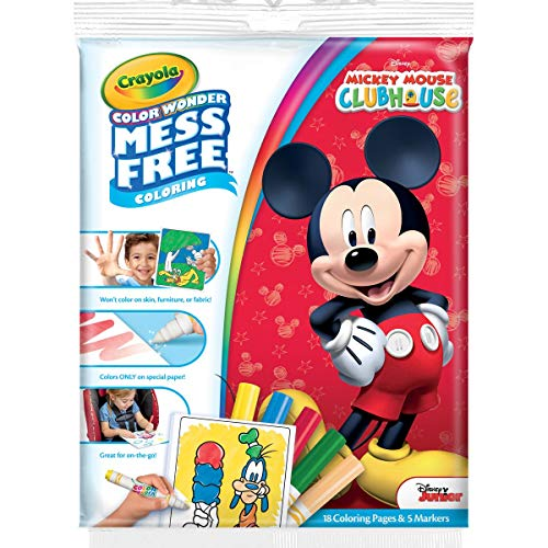 Crayola Mickey and the Roadster racers Color Wonder Paper and Markers -