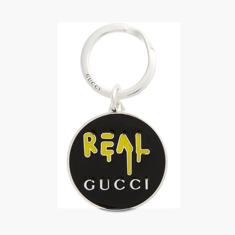 ff479a6cff1 GUCCI GHOST keychain YBF47864600100U  Amazon.co.uk  Clothing
