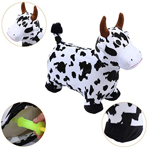 Ikevan_ 2019 Hopper Toy Hopping Horse, Outdoors Ride On Bouncy Animal Play Toys, Inflatable Hopper by Ikevan_ (Image #2)