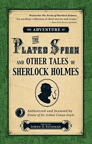 book cover of The Adventure of the Plated Spoon