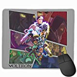 TRPOUIJD Dungeons & Voltron by K-Lionheart Mouse Pad Rectangle Rubber Anime Mouse Pad Gaming Mouse Pad 12x9.8 Inch(30x25 cm)