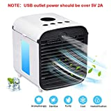 EDAL 2019 Upgraded Version Portable Air Conditioner, USB Plug & Rechargeable Battery Mini