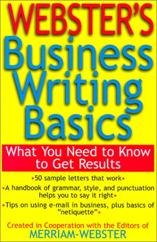 Webster's Business Writing Basics ebook
