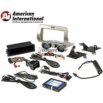 Astounding Amazon Com Pac 2010 15 Chevy Camaro Install Kit Single D Din W Wiring Digital Resources Counpmognl