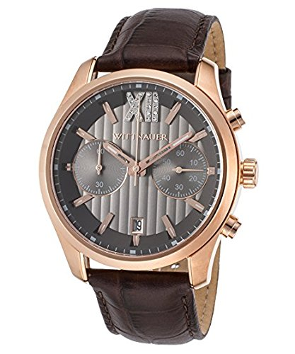 Wittnauer Brown Leather Strap Watch WN1016 ()