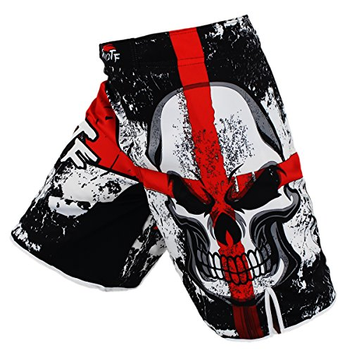 SUOTF MMA black boxing cotton loose size training kickboxing shorts muay thai shorts cheap mma shorts