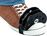 Meinl Percussion FJS2S-BK Cajon Player's Foot Tambourine with Steel Jingles, Black (VIDEO)
