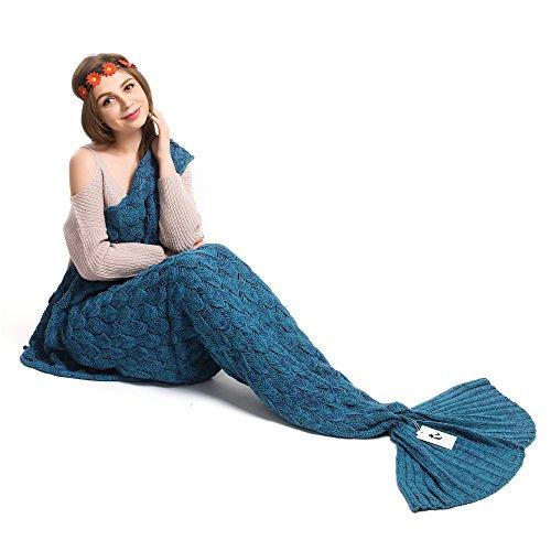 Kpblis® Latest Handmade Soft Material Mermaid Tail Shape Bl