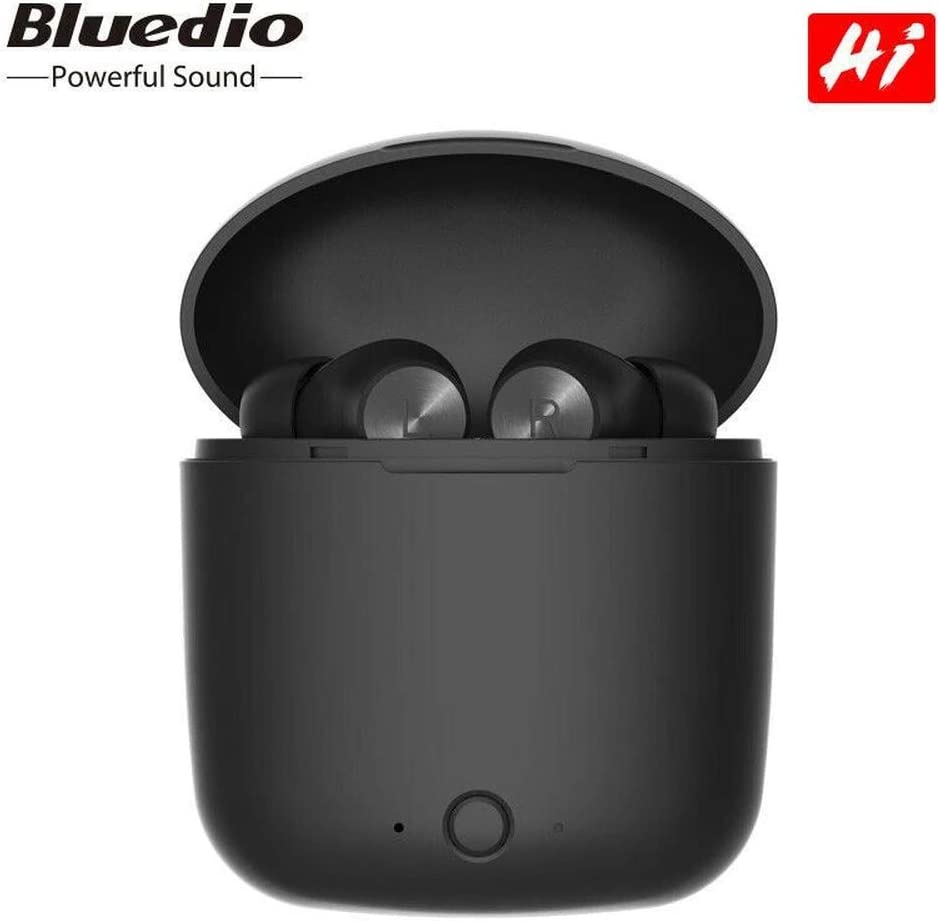 Bluedio Bluetooth-Ohrhörer, Bluetooth Kopfhörer in Ear Hi (Hurricane) Echte Kabellose Ohrhörer mit Ladekästchen,Bluetooth 5.0 Headset