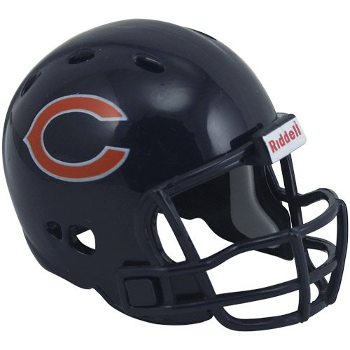 Pocket Helmet Revolution Pro Nfl (Chicago Bears Riddell Revolution Pocket Pro Football Mini Helmet)