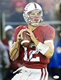 Andrew Luck Stanford Cardinals Signed 11 x 14 Photograph - JSA Authentication - Autographed College Football Memorabilia