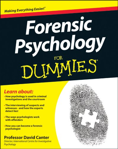 Forensic Psychology For Dummies cover