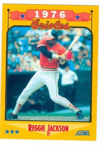 Amazoncom Reggie Jackson Baseball Card 1988 Score 501