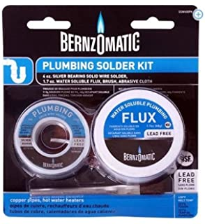 Bernzomatic Solder and Flux Kit