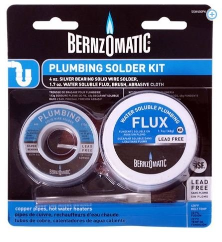 Top 10 bernzomatic solder and flux kit