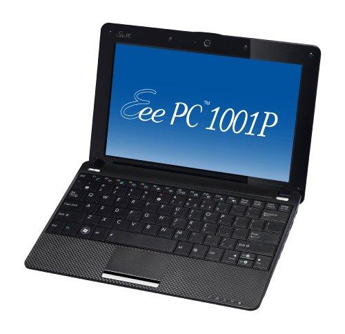 Asus Eee PC 1001P-MU17-BK 10.1-Inch Intel Atom Netbook Computer (Black)