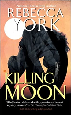 Image result for book cover killing moon rebecca york
