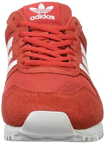 adidas Herren ZX 700 Sneaker Rot (Tactile Red/footwear White/tactile Red)