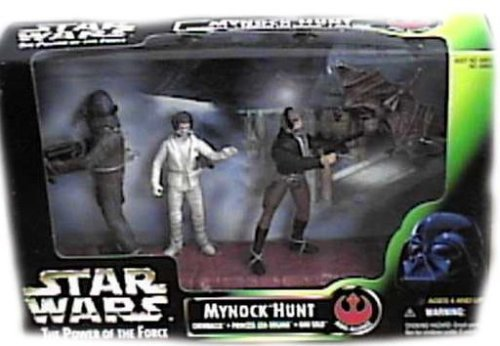 Star Wars - 1998 - Kenner - Power of the Force - Mynock Hunt Set - Rebel Alliance - w/ 3 Figures - Rare - New - Limited Edition - Collectible from Star Wars