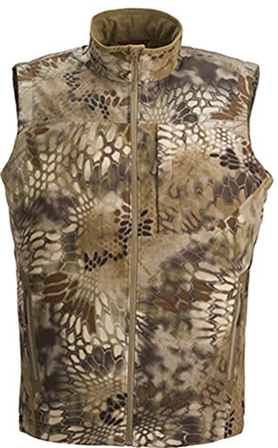Kryptek Men's Vellus Insulated Fleece Vest Polyester High...