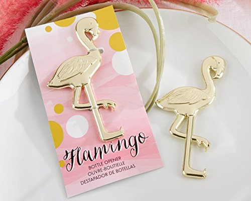 Fancy and Feathered Flamingo Bottle Opener