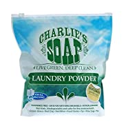 Charlie's Soap – Fragrance Free Powder Laundry Detergent – 300 Loads (8 lbs, 1 Pack)