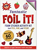 Large Foil It! Fantastic (Foil Art Activity Kit), Peter Pauper Press, 1441313729